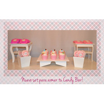 Set Para Candy Bar
