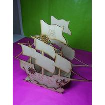 Barco Pirata Fibrofacil Candy Bar , Mesas Dulces Fabricantes