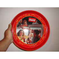 Bandeja De Coca Cola Chapa Tipo Cartel Original Italy