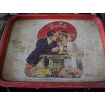 Antigua Bandeja De Coca Cola