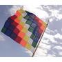 Tela Bandera Wiphala Pueblos Originarios De 150cm De Ancho