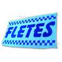 Bandera Para Fletes * 150 X 75 Cm Publicidad Negocio