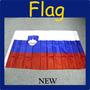 Eslovenia * Hermosa Bandera De 150 X 90 Cm * Maxima Calidad
