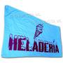 Bandera Para Heladerias * 150 X 75 Cm Publicidad Negocio