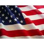 Enorme Bandera Eeuu Usa * 150 X 90cm * Con Cintas Para Atar