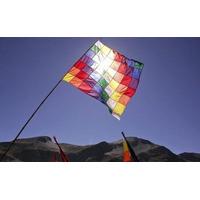 Bandera Wiphala De 50 Cm. X 50 Cm. - Intikilla Tienda