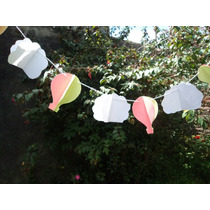 Guirnalda-banderín- Decoración De Cumpleaños Baby Shower