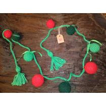 Guirnaldas Navideñas Tejidas A Crochet