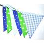 Banderines Guirnaldas De Tela Decoracion Eventos Cumpleaños