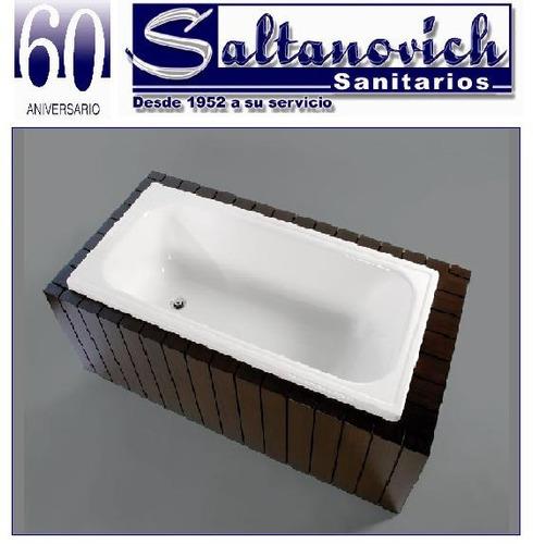 Bañera Acrilico Sanitario 120x70 Bagnara- Linea Clasica
