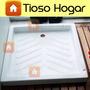 Plato Ducha Acrilico Box 75x75 80x80 90x90 Receptaculo Apoyo