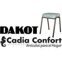 Banquetas 6 Dakot Caño Color Negro O Marron