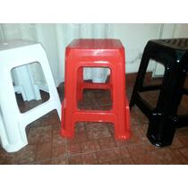 Banco Plastico Super, Apilable Reforzado Resistente