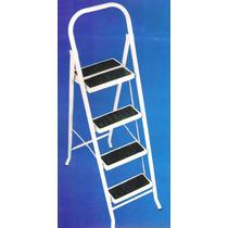 Escalera Metalica Plegable 5 Escalon Acero No Aluminio