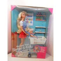 Barbie Kelly Set Shopping Fun Van De Compras 1996 Super Mp