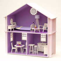Casita De Muñecas Barbie Completa Con Muebles Y Accesorios