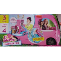Barbie Camper , Caravana, De Lujo. Mattel