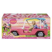 Barbie Sisters Safari Cruiser Original De Mattel!!!!!!