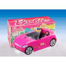 Auto Descapotable Barbie Original C Photoprint Par Decorar