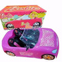 Barbie Auto Fashion Miniplay Stickers Decorado