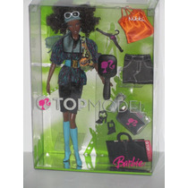 Top Model Nikki Afro- Mattel Unica Original-. Usa Nueva.