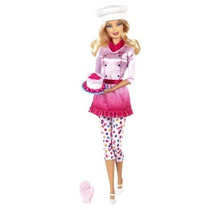 Barbie Chef De Postre - Mattel-