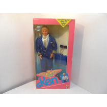 Barbie Ken Fligth Time En Caja Original Mattel Mp