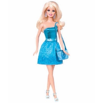 Barbie Glitz Turquesa Unica 2015 T580