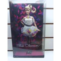 Muñeca Barbie Collector Shoe Obsession Envio Sin Cargo Caba