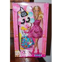 Muñeca Barbie Con Vestido Y Accesorios Oferta!!!