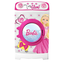 Barbie Lavarropa Tambor Gira Original Tv / Open-toys Avell