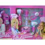 Set De Doctora Barbie En Caja A Pila -3 Modelos