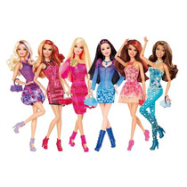 Barbie Fashionistas Modelos 2013 Originales Mattel