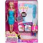 Muñeca Barbie Diseño De Modas Con Accesorios Mattel