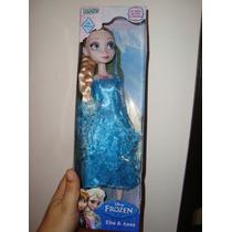 Frozen Elsa Muñeca Original Disney Ditoys Nueva 30cm Sonidos