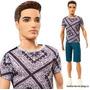 Muñeco Ken De Barbie Fashionistas Mattel Envío Int