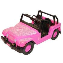 Auto Barbie Jeep Safari Fashion Stikers Licencia Original