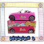Barbie Auto Fashion Descapotable P/tus Muñecas Con Stickers
