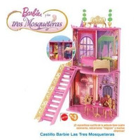 Barbie Castillo Tres Mosqueteras Envio Sin Cargo Caba