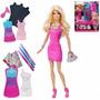 Barbie Fashion Design Diseño De Ropa Mattel 20 Piezas