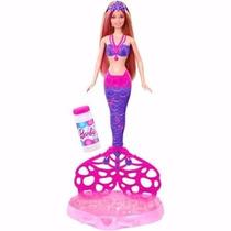Barbie Sirena Burbujas Magicas 2015 ! Original Mattel !!