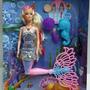 Muñeca Sirena Con Luz Con Mascota Betty
