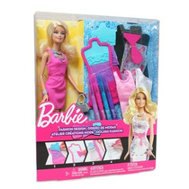 Imperdible Barbie Diseño De Moda Mattel