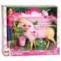 Barbie Doll & Tawny Horse.mattel Muneca Con Caballo Original