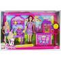 Barbie Y Su Familia Hermanas En El Parque Palomitas De Maíz