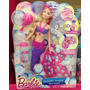 Barbie Sirena Burbujas Magicas Muñeca Barbie Original Mattel