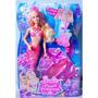 Barbie Sirena Princesa De Las Perlas Lumina Bunny Toys