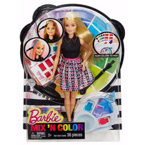 Barbie Estudio De Colores Mix N Color Mattel Novedad Import
