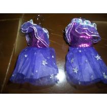 Vestidito Para Muñeca Corto En Color Violeta