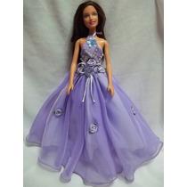 Vestido De Fiesta Ropa Para Barbie Muñeca Nuevo